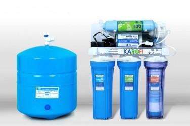 Máy lọc nước Karofi 6 lõi lọc  không tủ bình áp thép