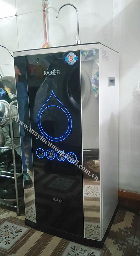 Máy lọc nước iRO 2.0 trong bếp