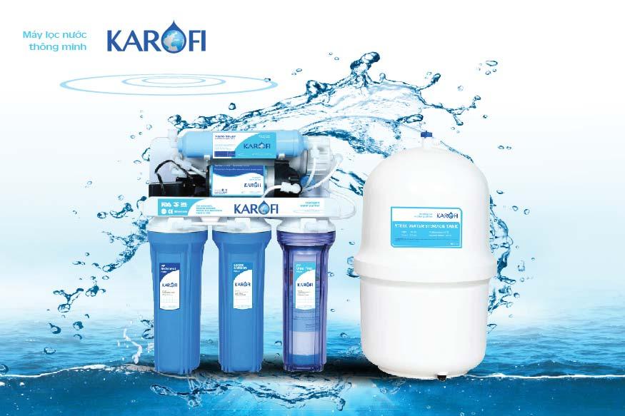 Máy lọc nước Karofi không tủ