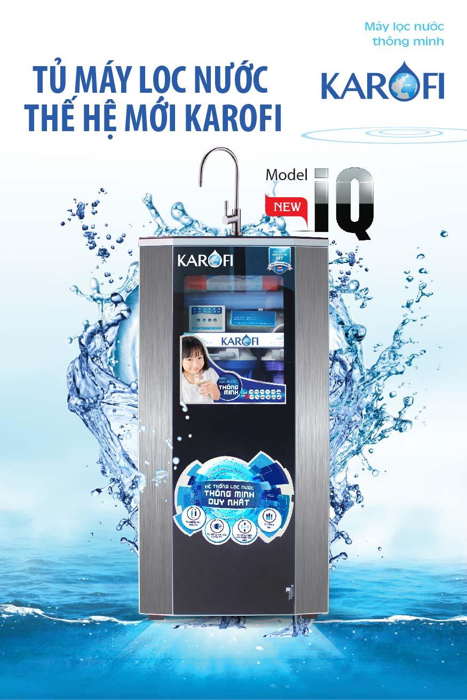Máy lọc nước Karofi có  tủ