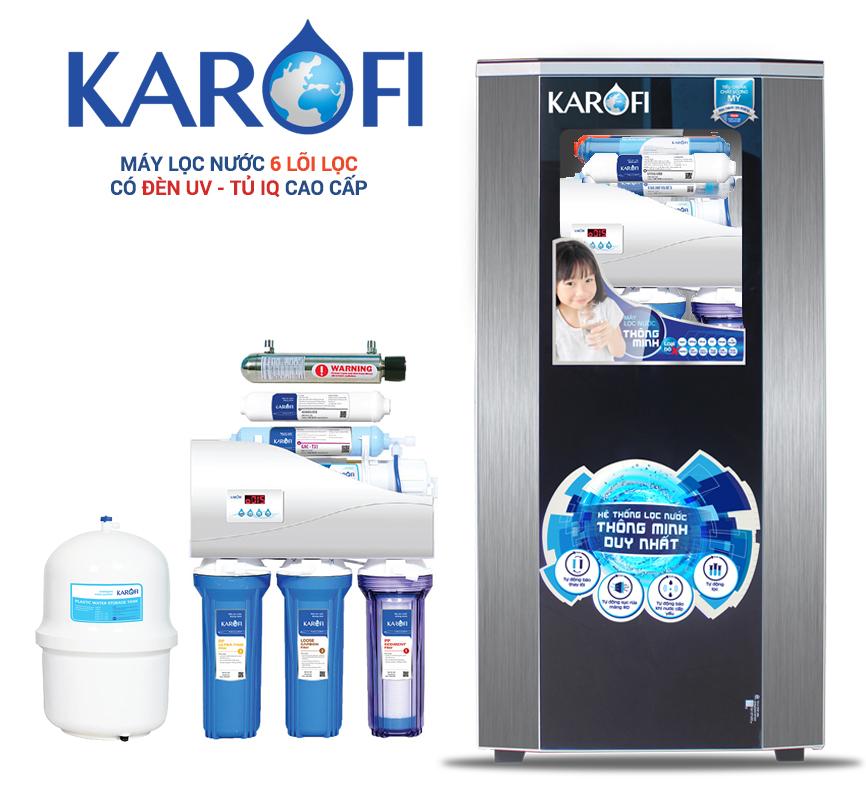 Máy lọc nước Karofi Thông minh 6 lõi K6I-1 UV