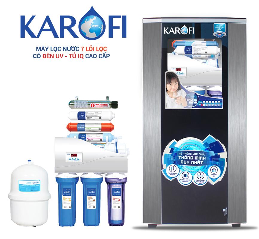 Máy lọc nước Karofi Thông minh 9 lõi K9I-1 UV