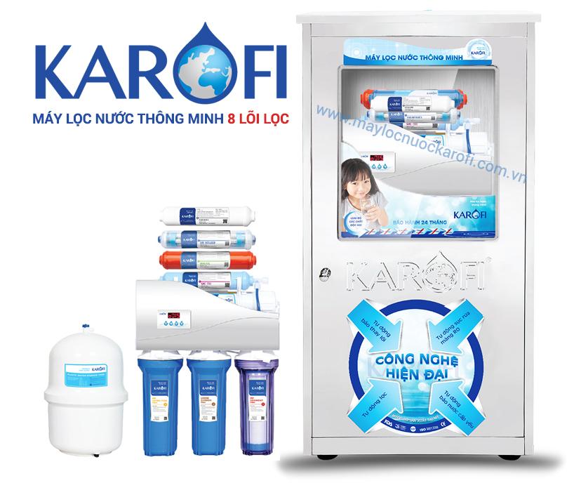 Máy lọc nước Karofi Thông minh 8 lõi K8I-1