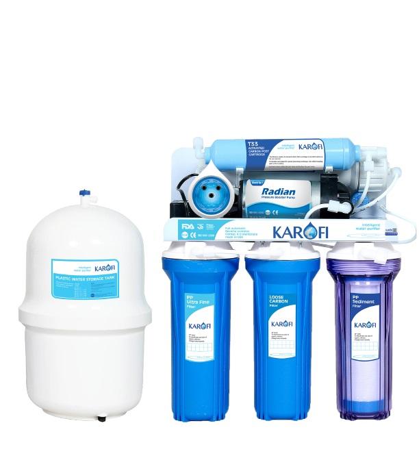 Máy lọc nước Karofi sRO thông minh 5 lõi lọc