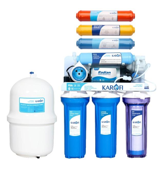 Máy lọc nước Karofi sRO thông minh 8 lõi lọc